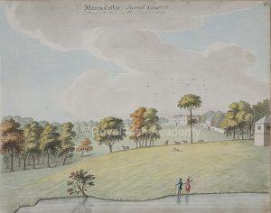Moira Castle by Gabriel Beranger 1799