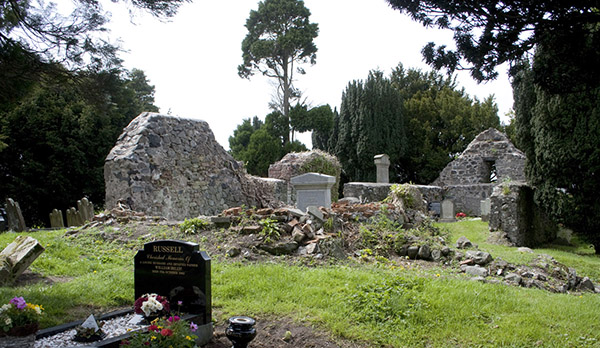 Trummery graveyard