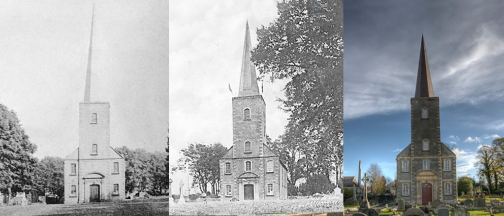 St John's church Moira montage