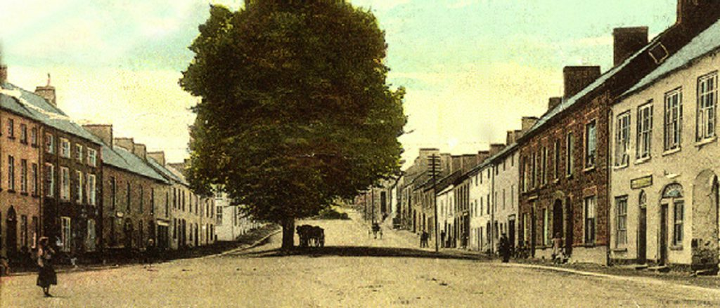 Moira Main street in 19th C