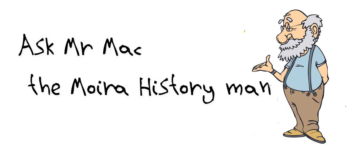 Mr Mac the Moira History man