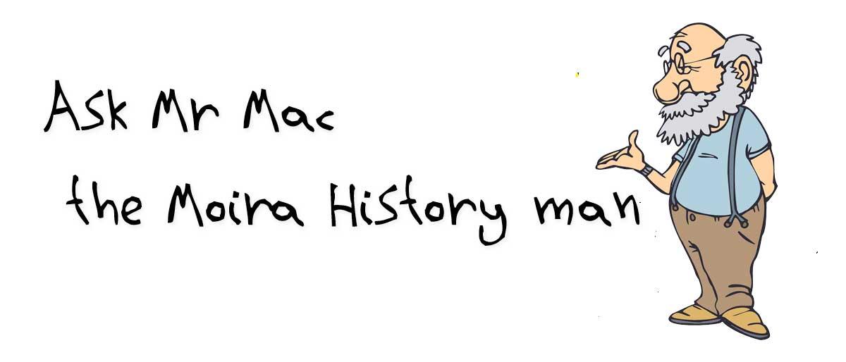 Mr Mac the Moira History man