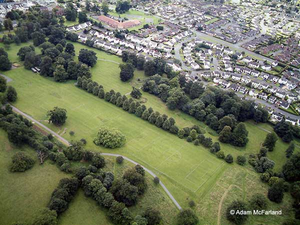 Aerial view of Moira Demesne 2006