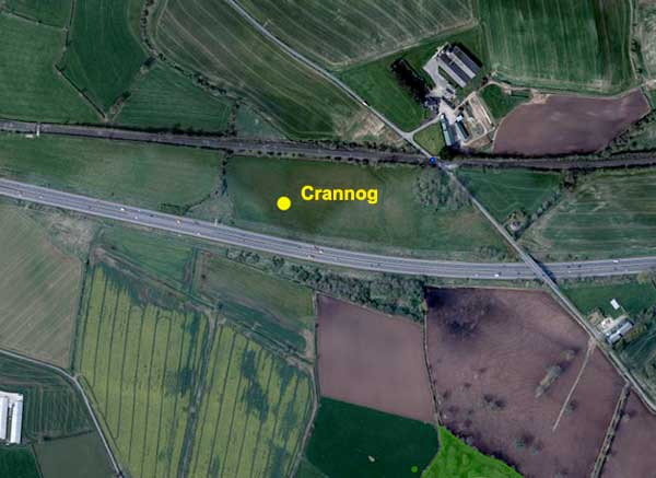 Crannog near Moira
