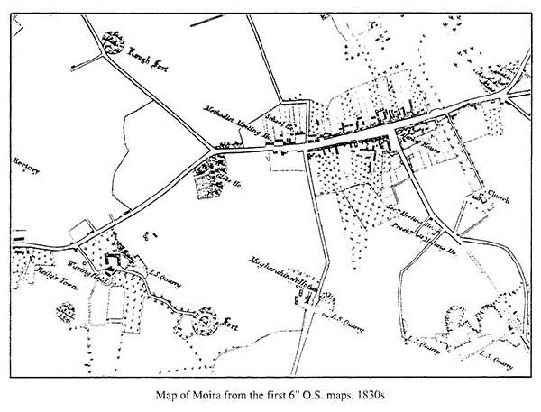 Moira map 1830