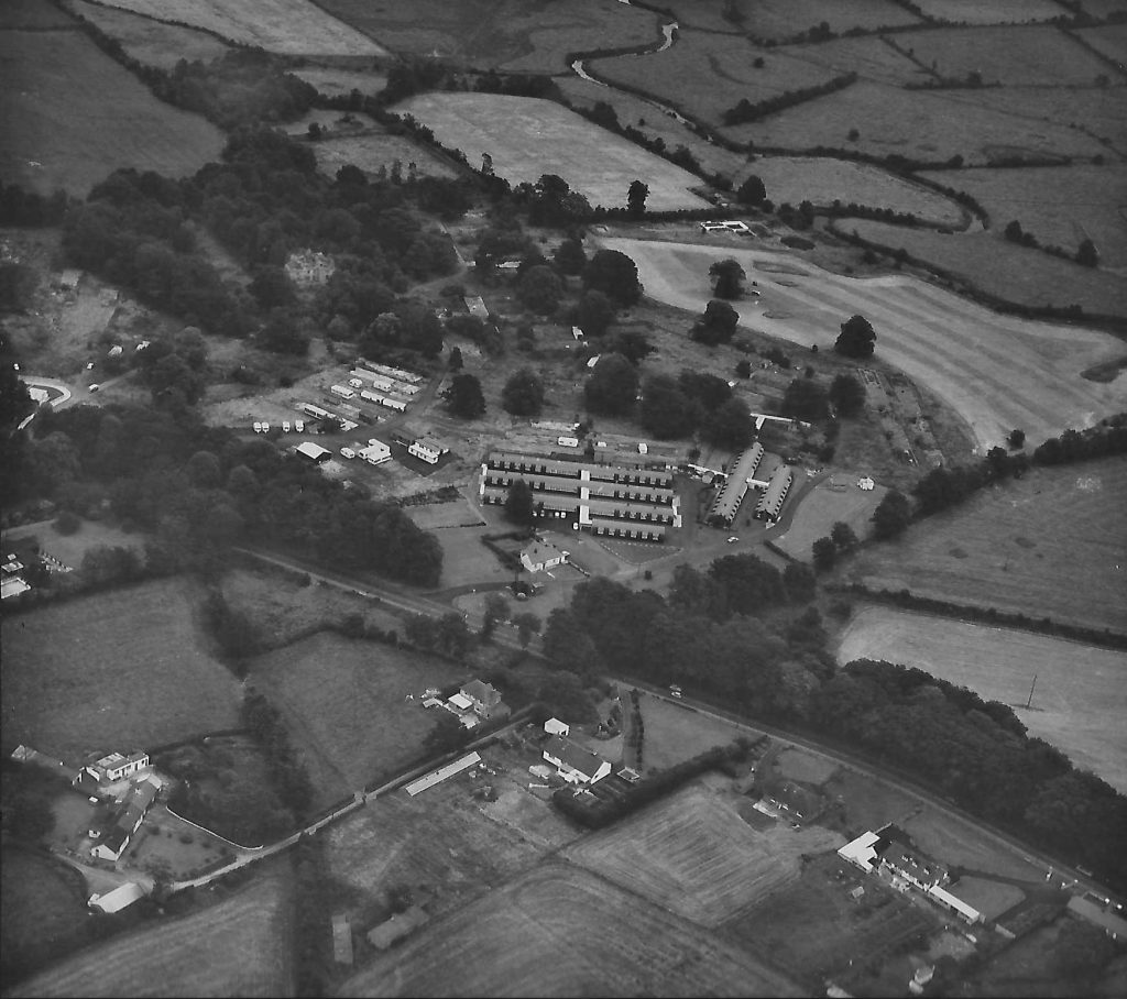 Waringfield house and Moira Chest Hospital and caravan park
