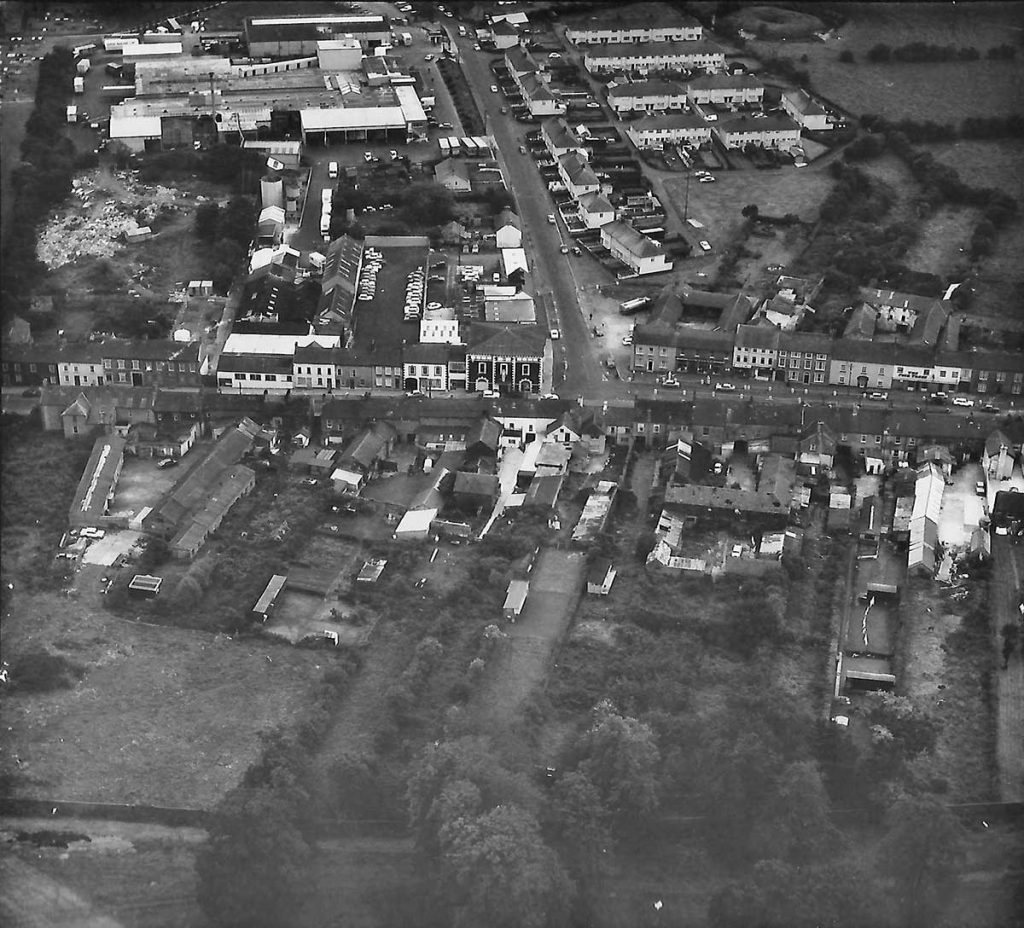 The centre of Moira 1974